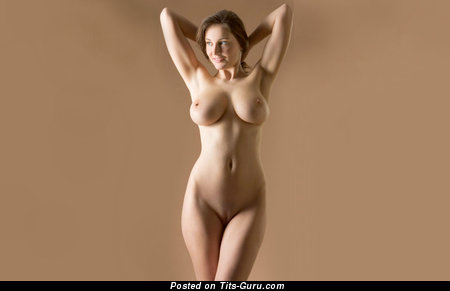 Image. Hot female with big natural boob pic