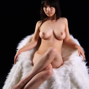 Asian with big natural tittes pic