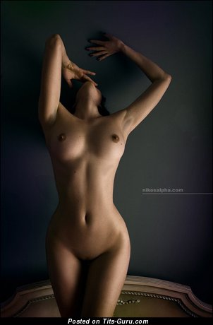 Image. Nice female with medium natural breast picture