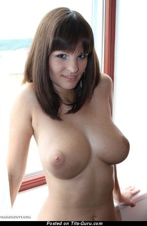 Image. Nude nice lady with big natural breast photo