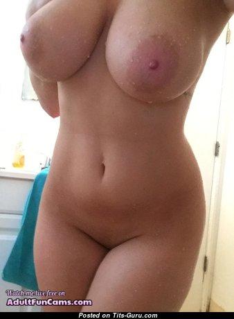 Sexy amateur nude wonderful lady selfie