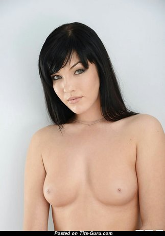 Coco Bianca - Nice Topless Brunette Pornstar with Nice Defenseless Natural Microscopic Tittys (18+ Pix)