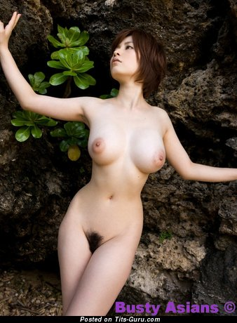 Saki Okuda - Grand Japanese Gal with Grand Exposed Med Melons (Hd Porn Foto)