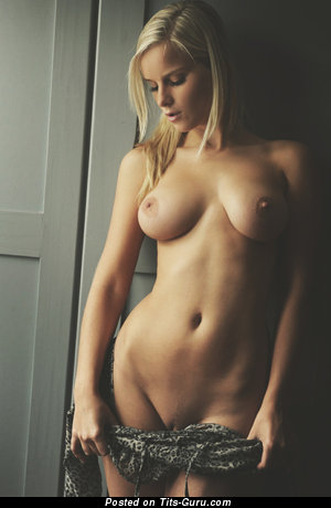 Image. Sexy nude nice female with medium natural breast photo