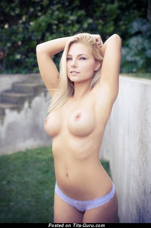 Nude beautiful woman with medium boobs pic