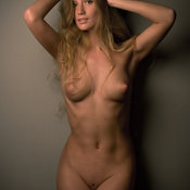 Judy - awesome lady with medium natural breast photo