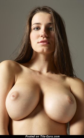 Image. Naked amazing girl with big boobies photo