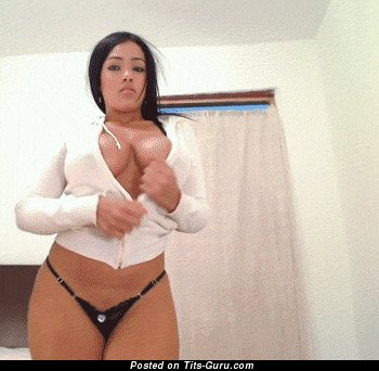 Image. Naked hot lady with big tots gif