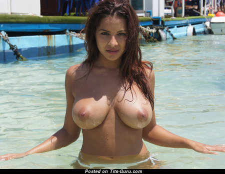 Image. Sexy nude brunette with big tittys photo