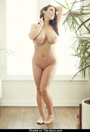 Image. Angela White - naked nice female with big natural tits picture