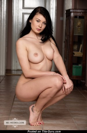 Lucy Li - naked brunette with big tits image