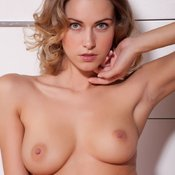 Olga Alberti - beautiful female with medium natural tittes image