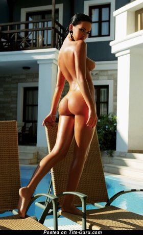 Dasha Astafieva - nude wonderful girl with medium natural breast photo