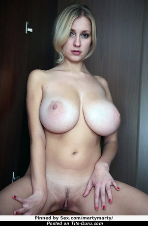 Nice Lassie with Nice Bald Substantial Boobies (Xxx Picture)