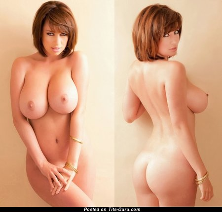 Sophie Howard - Exquisite British Lady with Exquisite Bare Big Sized Busts (Sex Photo)