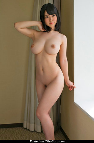 Aizawa Yurina - Marvelous Asian Brunette Babe with Marvelous Nude Fake Mid Size Breasts (Hd Sexual Photoshoot)