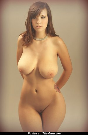 Image. Nude wonderful female with big natural breast photo