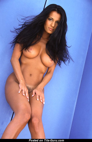 Gleicy Santos - Beautiful Topless Brazilian Brunette with Beautiful Open Real Busts (Sex Wallpaper)
