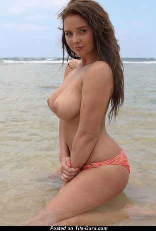 Magnificent Babe with Magnificent Bald Natural Dd Size Tots (Hd Sex Pic)