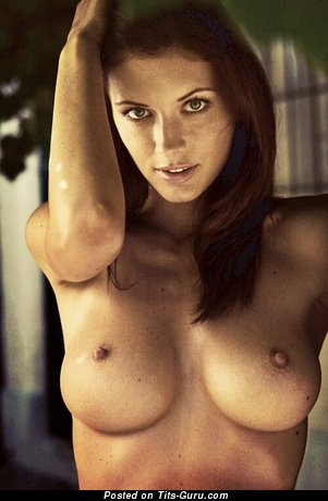 Image. Amateur naked beautiful lady with medium tits image