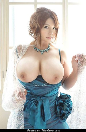 Appealing Asian Babe with Appealing Defenseless Monster Boob & Giant Nipples (Hd Sex Picture)