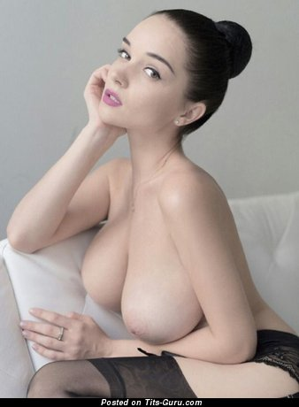 Image. Sexy nice girl with big natural breast image