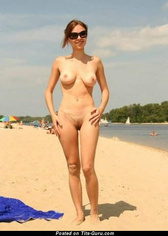 Image. Naked awesome lady with medium natural breast picture