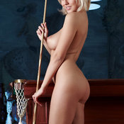 Mandy Dee - blonde with natural breast photo