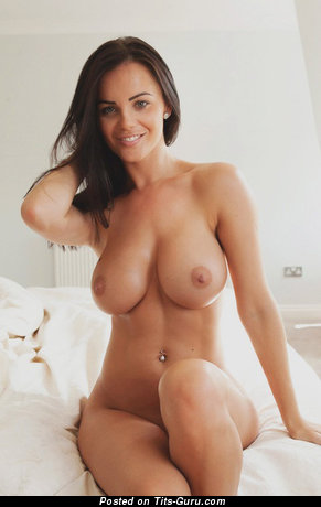 Image. Naked brunette with big boobs picture