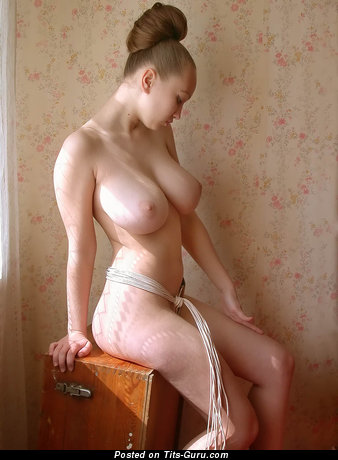 Aneli: sexy naked amazing woman with big natural breast image