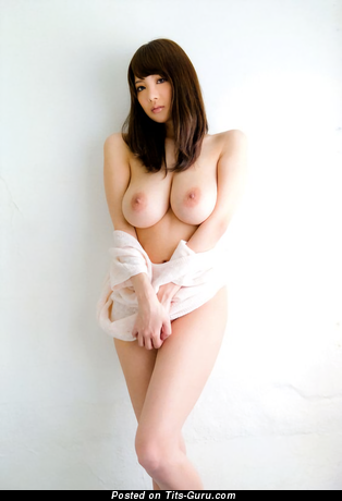 Shion Utsunomiya - topless asian brunette with big natural breast and big nipples image