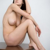 Modelflats Girl - awesome female with big natural breast photo