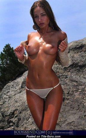 Ingrid - Alluring Undressed Brunette (18+ Image)