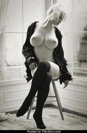 Image. Nude wonderful lady with big tittes photo
