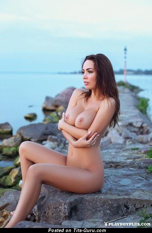 Image. Nude awesome female with big tots image