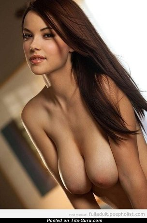 Image. Naked awesome female with big natural boobs photo