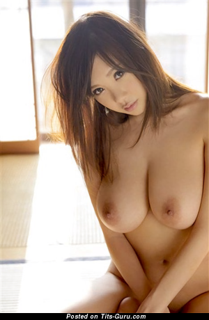 Shion Utsunomiya - The Nicest Topless Japanese Brunette Pornstar with The Nicest Nude Natural D Size Melons & Long Nipples is Undressing (Hd 18+ Pic)