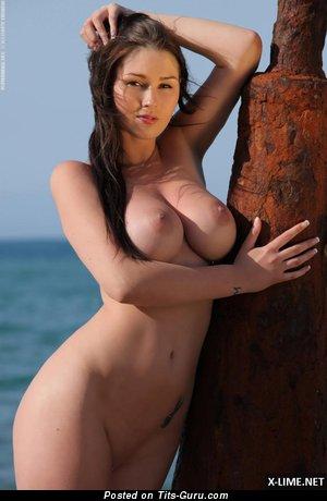 Image. Wonderful woman with big breast photo