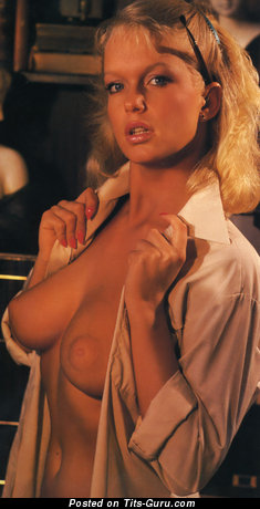 Carina Jensen - Pleasing Blonde Babe with Pleasing Defenseless Natural Tight Chest (Vintage Hd Xxx Foto)