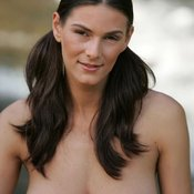 Awesome lady with big natural breast image