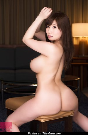 Chino Azumi - Pleasing Topless Asian Babe with Pleasing Nude Med Tots (Hd Porn Pix)