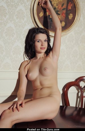 Image. Amazing girl with natural breast photo