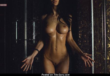 Image. Svetlana Bilyalova - nude brunette with big boobs image