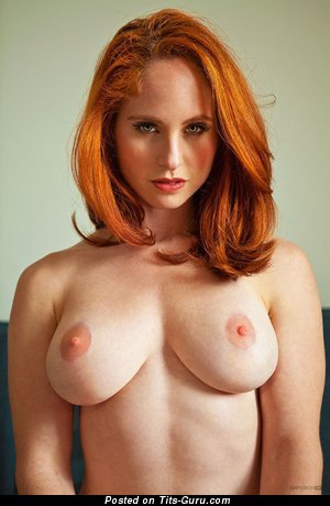 Good-Looking Red Hair with Good-Looking Bald Real C Size Titties (Hd Sexual Photoshoot)
