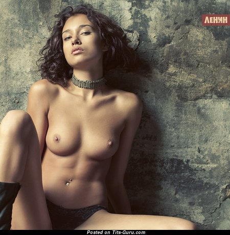 Image. Nude amazing female with medium natural boobies photo