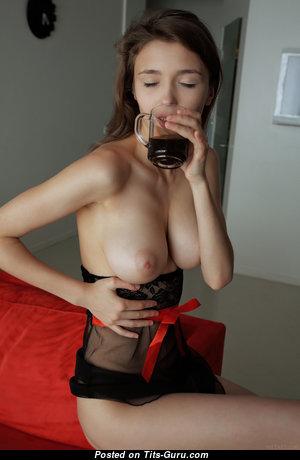 Mila Azul - Nice Ukrainian Red Hair Babe with Nice Naked Real Soft Boobs & Giant Nipples (Hd Xxx Foto)