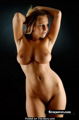 Cikita - Marvelous Czech Blonde Babe with Marvelous Open Soft Tit (Xxx Image)