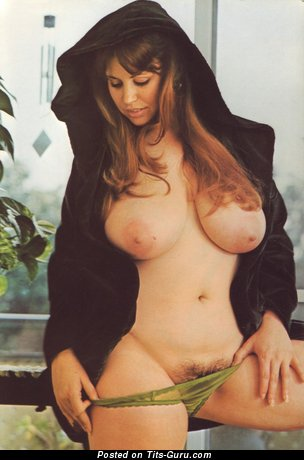 Image. Nude awesome woman with big natural boobies vintage