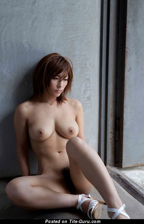 Image. Nude asian with medium natural tittys photo