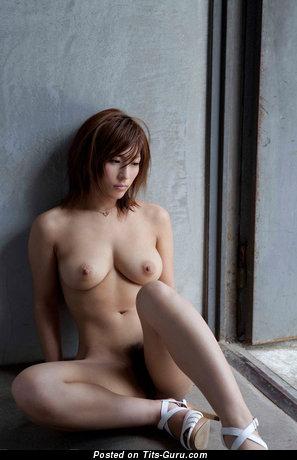 Image. Nude asian with medium natural boob photo